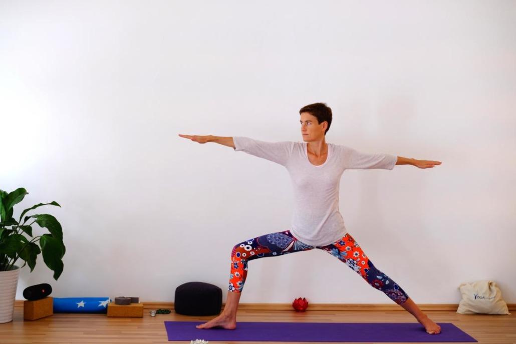Stephanie Rank bei Yoga